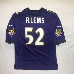 b9568acc Nike Baltimore Ravens Ray Lewis #52 Jersey Medium